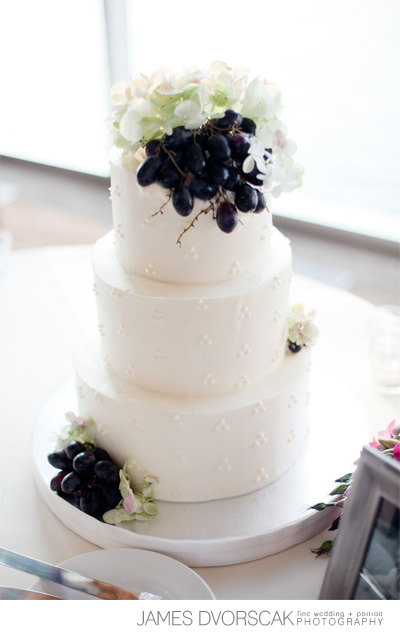 grapes wedding - haute cakes austin