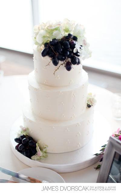 grapes wedding - haute cakes austin