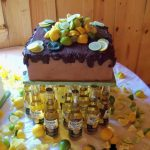 lemon lime groom cake